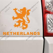 Lion Flag Netherlands Lion Flag Holland Dutch Car Decal Sticker Vinyl Die