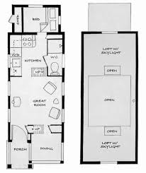 apartments micro cottage plans main floor plan four lights tiny