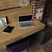plan de bureau en bois le bureau panneau média now by hülsta bureau meubles design