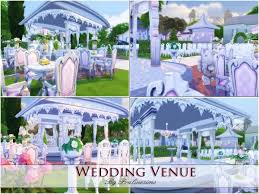 wedding arches sims 4 the sims resource wedding venue by praline sims sims 4 downloads
