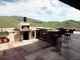 Tuscan Themed Kitchen Tuscan Themed Outdoor Kitchen W Earth Stone Pizza Oven And Fire