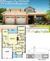 Floor Plan Bungalow Plan 11778hz 3 Bedroom Bungalow House Plan Pantry Wine Storage