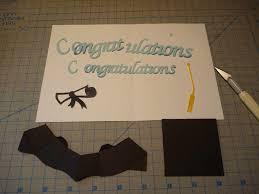 graduation pop up card 3d cap tutorial creative pop up cards