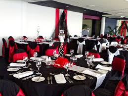 marvelous red black and white wedding decorations 82 for table
