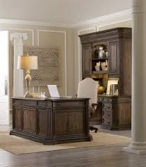executive desk with file drawers home office hooker furniture rhapsody collection executive desk