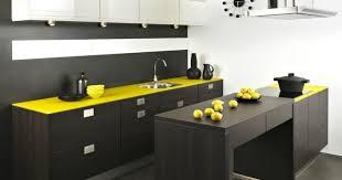 travailler en cuisine cuisine avec plan de travail pour choisir la bonne couleur 11 en