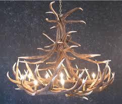 antler chandeliers and lighting company cast elk antler chandeliers
