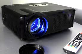 720p led lcd video projector fugetek fg 857 home theater cinema