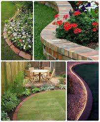 65 lawn u0026 flowers edging ideas to enhance form of your garden