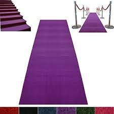 purple aisle runner purple event carpet luxurious quality aisle runner 3ft