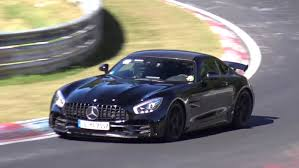 what does amg mercedes black mercedes amg gt r does nurburgring passes autoevolution