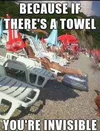 You Re A Towel Meme - because if there s a towel you re invisible giantgag