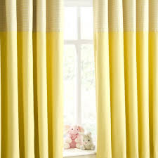 Yellow Curtains Nursery Enhanced Living Curtain Panel Set Of 2 Size 117cm W X 137cm L