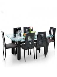 Dining Table And Six Chairs Dining Table Set With Six Chairs