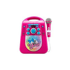 light up karaoke machine jojo siwa light up karaoke machine with microphone from smyths toys