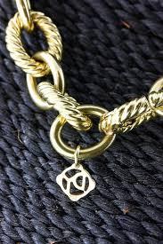large gold link necklace images David yurman 18k yellow gold solid large oval link necklace jpg