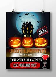 halloween party flyer custom halloween party invite