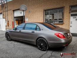 mercedes maybach 2008 mercedes benz maybach s600 v12 wrapped in charcoal matte metallic