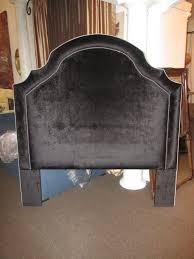 handmade custom queen size velvet headboard by heaven antique and