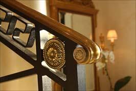 Handrail Rosette Villa Palladio Architectural Details