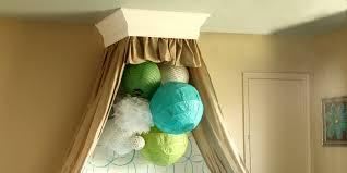 Crib Canopy Crown by Remodelaholic Simple Bed Crown Cornice Tutorial