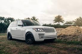 chrome land rover white range rover hse renntech10 deep monolite m v2 wheels adv