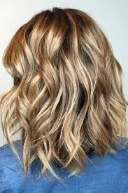 shades of high lights and low lights on layered shaggy medium length 51 blonde and brown hair color ideas for summer 2018 light brown