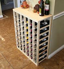 good wine news vinogrotto 48 bottle table wine rack pine by