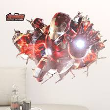 online get cheap boys avengers wall decal aliexpress com