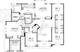 hillside home design 6980am architectural designs house plans