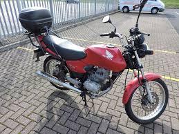 honda cg 125 es motorcycle electric start red in west