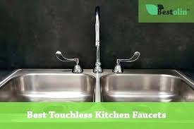 kitchen sink faucet reviews kitchen faucets touchless chrome single handle pull kitchen