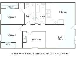 3 bedroom 2 bath floor plans manufactured home floor plans 3 bedroom 2 bath 2 bedroom mobile home