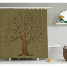 vintage shower curtains wayfair