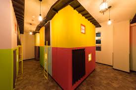 hop step inn miniature house dormitory room 3 500yen