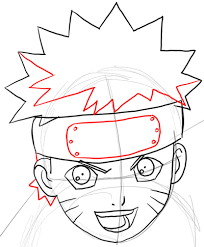 tutorial naruto how to draw naruto uzumaki with easy step by step drawing