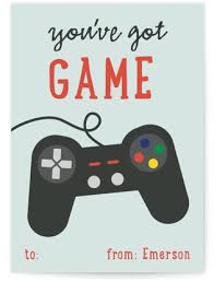 gamer valentines cards classroom valentines by theme minted