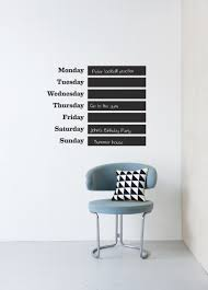 ferm living this week chalkboard wall decal wallpaper wall ferm living this week chalkboard wall decal