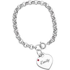 name engraved bracelets personalized bracelets walmart