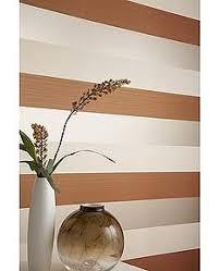 Striped Wallpaper Bathroom Figaro Orange Striped Wallpaper Designer Stripes Wall Coverings