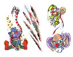 evil clown tattoo designs tattoobite com