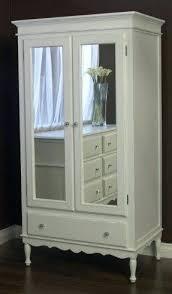 Door Armoire White Closet Armoire U2013 Perfectgreenlawn Com