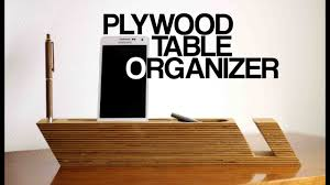 Scandanvian Design Table Organizer Inspired By Scandinavian Design Youtube