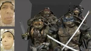 video u0027teenage mutant ninja turtles u0027 cg characters