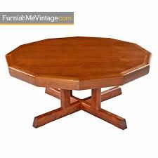 Teak Coffee Table Solid Teak Modern Coffee Table