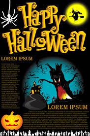 happy halloween poster vector art u0026 graphics freevector com
