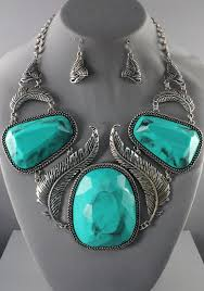 turquoise necklace designs images Antique looks natural stone necklace turquoise 106032tq 41 99 jpg