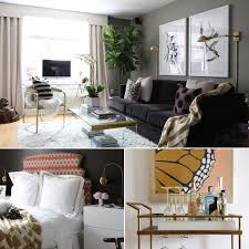 One Bedroom Apartment Designs Interior Designer U0027s Nyc Apartment Is Full Of Diy Inspiration