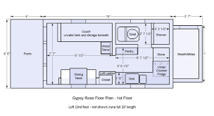 tiny house floor plans on wheels