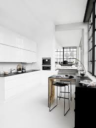 7 Black And White Kitchen by Minimal Kitchens Homey Oh My